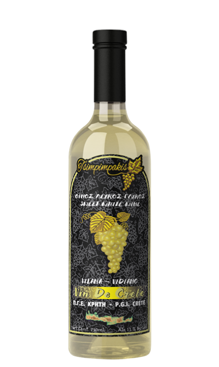 Sweet white wine semiflat