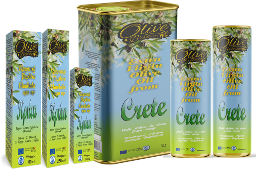 Extra virgin olive oil from crete